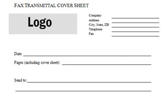 Fax Transmittal Cover Sheet